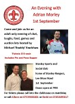 An Evening with Adrian Morley