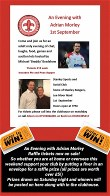 Evening with Adrian Morley