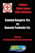 Under 12s 29th Feb game