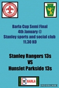 Under 13s Cup game