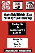 Wakefield District Cup 2020