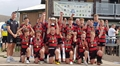 Under 12s at the Festival of Rugby